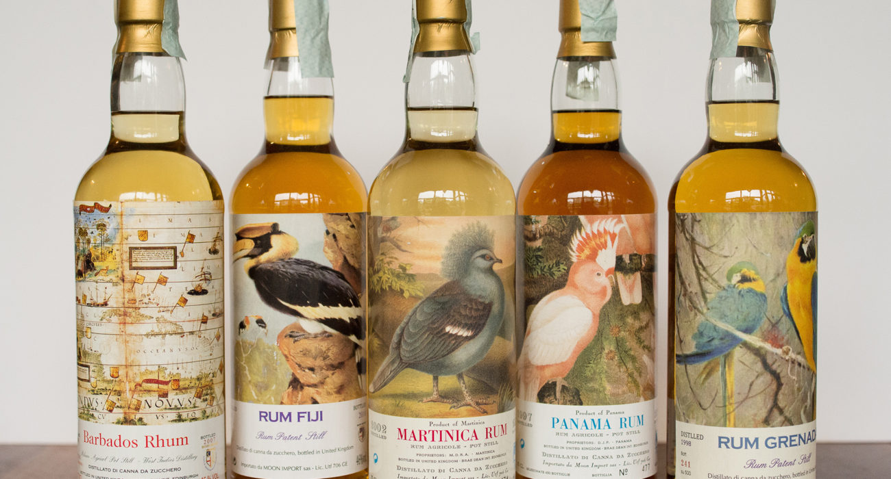 Exotic rums of the world. Photo by Matthias Merges.