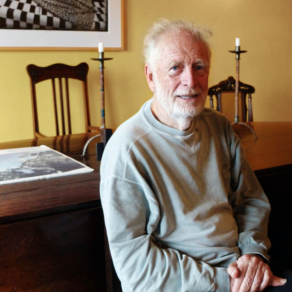 Portrait of Chris Blackwell, by Ben Schaffer
