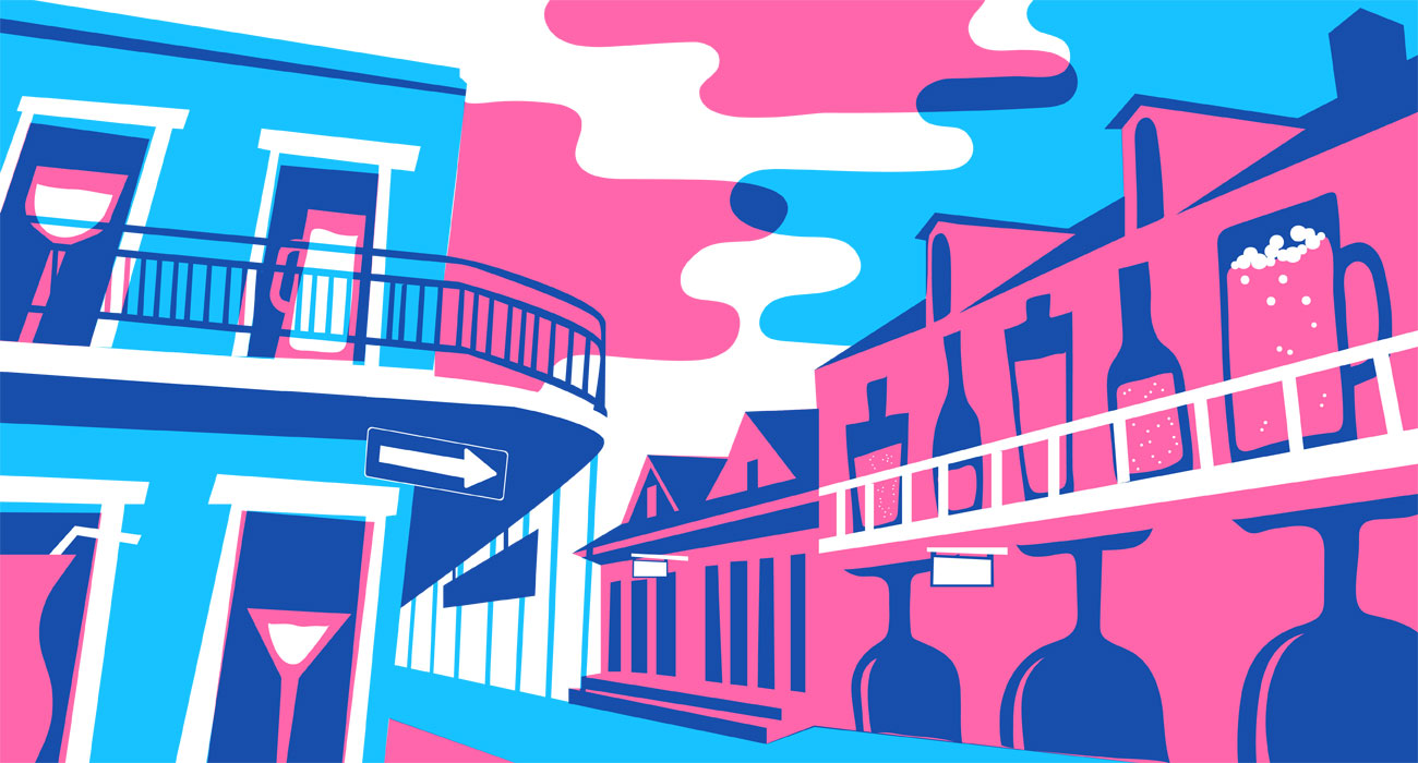 New Orleans, illustrated by Pearl Shen