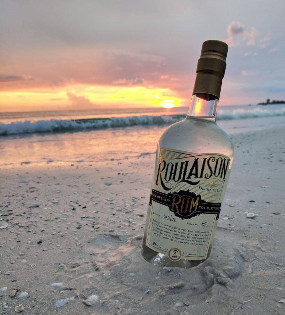 Roulaison on the beach