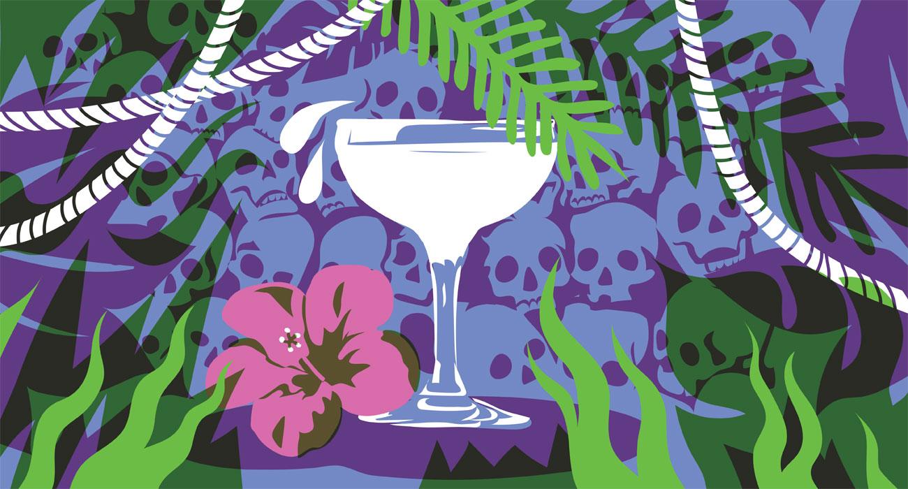 The jungle Daiquiri. Illustration by Pearl Shen.