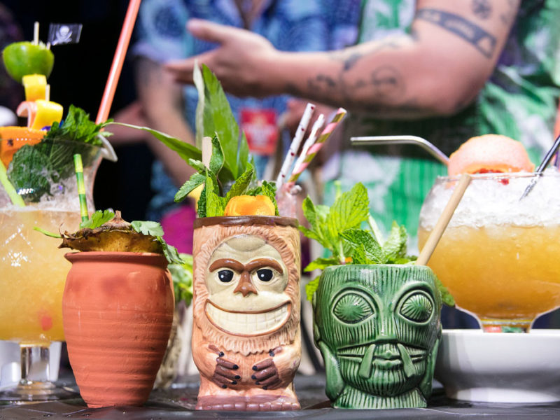Tiki Throw Down by Derrick Davis